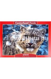 "Puzzle-1500. ""Снежный леопард"" (С-150823)"