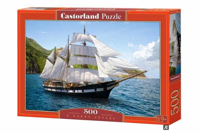"""Иллюстрация 1 из 10 для Puzzle-500 """"Парусник"""" (В-51496)   Лабиринт - игрушки. Источник: Лабиринт"""