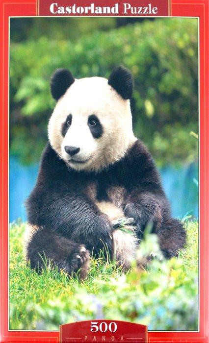 """Иллюстрация 1 из 5 для Puzzle-500 """"Панда"""" (В-51519)   Лабиринт - игрушки. Источник: Лабиринт"""