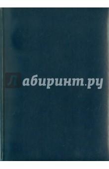 """Ежедневник """"MANCHESTER"""" недатированный, 200 листов, линейка, А5, синий"""