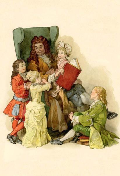 Иллюстрация 1 из 13 для Сказки в открытках - Шарль Перро | Лабиринт - книги. Источник: Лабиринт