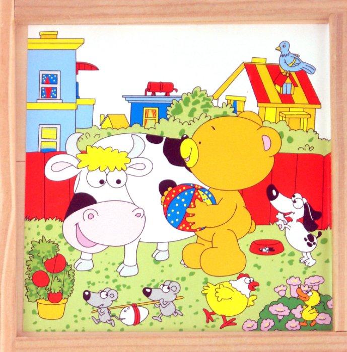 Иллюстрация 1 из 2 для Кубики (Ф21-325) | Лабиринт - игрушки. Источник: Лабиринт
