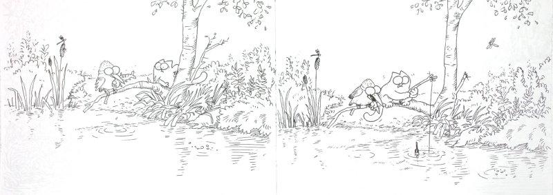 Иллюстрация 1 из 20 для Кот Саймона: сам по себе - Саймон Тофилд | Лабиринт - книги. Источник: Лабиринт