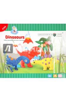 Набор шарикового пластилина Динозавры (DB14011)