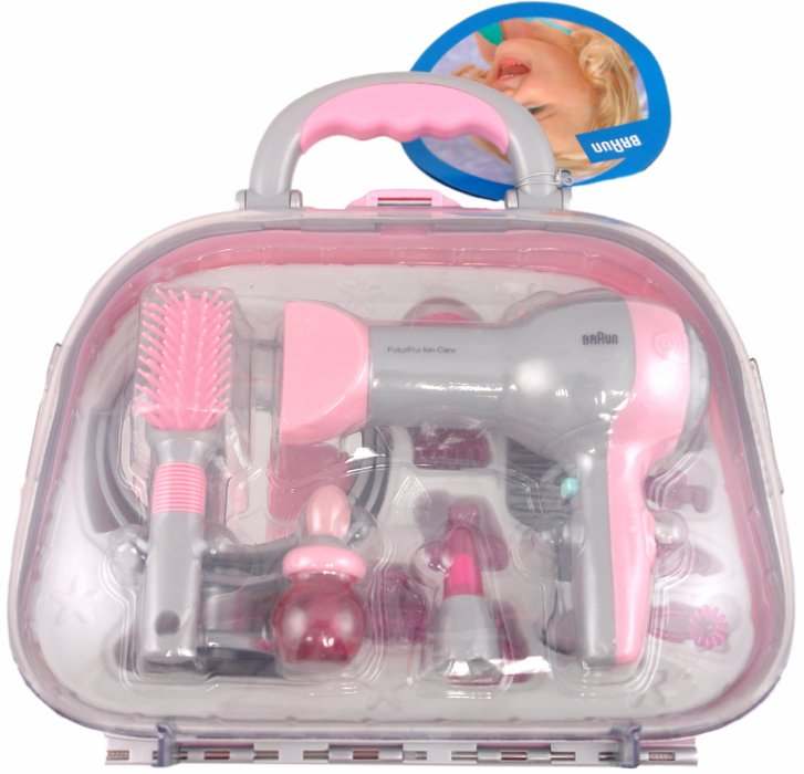"""Иллюстрация 1 из 5 для Набор парикмахера в чемодане """"BRAUN"""" (5855)   Лабиринт - игрушки. Источник: Лабиринт"""