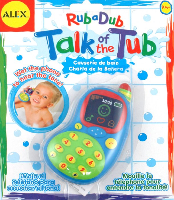 """Иллюстрация 1 из 3 для Игрушка для ванны """"Телефон озвученный"""" (830W)   Лабиринт - игрушки. Источник: Лабиринт"""