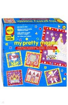Мозаика Прелесть, от 3 лет (1404)Мозаика<br>Мозаика Прелесть. Создай 5 мозаичных картин своими руками! Создать картину-мозаику совсем несложно, ваш ребенок с легкостью справится с этим делом и получит при этом массу удовольствия. Кроме того, это занятие очень полезно для развития моторики и внимания. В наборе: 5 картинок-заготовок, 1400 наклеек разных цветов и формы и простая иллюстрированная инструкция. Для детей от 3-х лет.<br>Страна-изготовитель: Китай.<br>