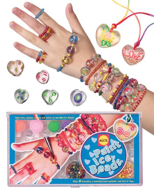Иллюстрация 1 из 2 для Прозрачные кольца + браслеты + краски, кисть, стикеры (130W) | Лабиринт - игрушки. Источник: Лабиринт