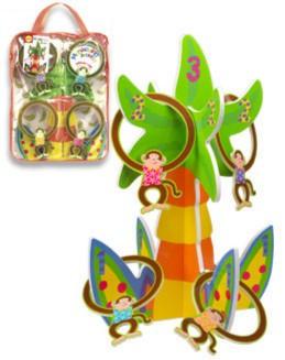 """Иллюстрация 1 из 6 для Кольцеброс """"Обезьянки"""" (718W)   Лабиринт - игрушки. Источник: Лабиринт"""