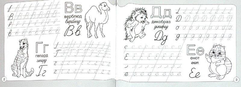 Иллюстрация 1 из 6 для Прописи. Азбука. Животные | Лабиринт - книги. Источник: Лабиринт