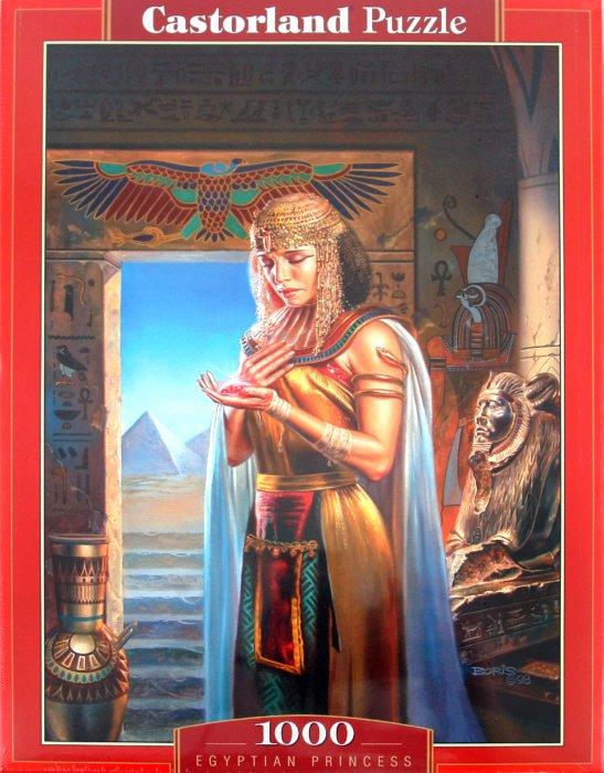 Иллюстрация 1 из 5 для Египетская принцесса, 1000 деталей (C-102037) | Лабиринт - игрушки. Источник: Лабиринт