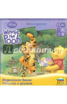 Настольная игра Медвежонок Винни. Прогулка к друзьям