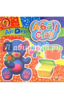Пластилин шариковый застывающий Мишутка 4 цвета (24224)