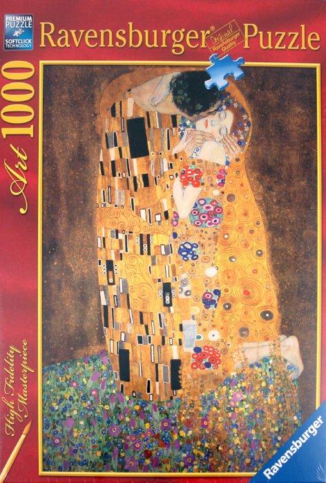 """Иллюстрация 1 из 3 для Пазл-1000 """"Климт. Поцелуй"""" (157433)   Лабиринт - игрушки. Источник: Лабиринт"""