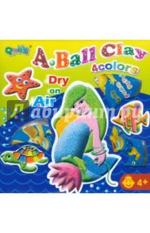 Набор шарикового пластилина 4 цвета (1127)