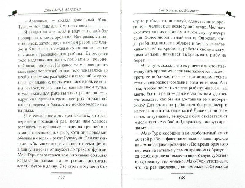 Иллюстрация 1 из 14 для Три билета до Эдвенчер - Джеральд Даррелл | Лабиринт - книги. Источник: Лабиринт
