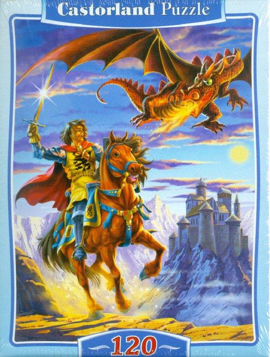 """Иллюстрация 1 из 2 для Puzzle-120. MIDI """"Бой с драконом"""" (В-12503)   Лабиринт - игрушки. Источник: Лабиринт"""