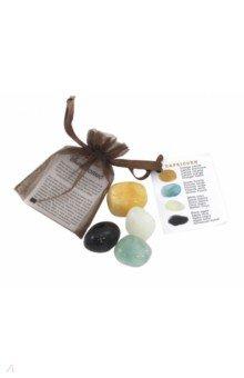 Астрологические кристаллы. Козерог (4 штуки)Другое<br>Астрологические кристаллы (Козерог). 4 штуки.<br>Кристаллы: оранжевый кальцит, зеленый флюорит, белый оникс, черный турмалин<br>Упакованы в бархатный мешочек.<br>