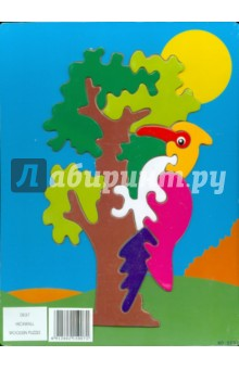 Дятел (DE07)Сборные 2D модели и картинки из дерева<br>Для того, чтобы ребенок вырос разносторонне развитым, ему необходимо постоянно получать новые знания. Общеизвестно, что дети лучше всего обучаются во время игры. Игрушки компании ВГА предоставляют ребенку эту возможность. Они развивают усидчивость, пространственное и абстрактное мышление. Выполнены из экологически чистой древесины.<br>Производство: Китай.<br>
