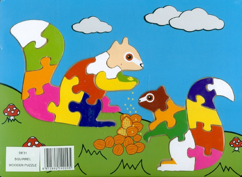 Иллюстрация 1 из 8 для Белка (DE31)   Лабиринт - игрушки. Источник: Лабиринт