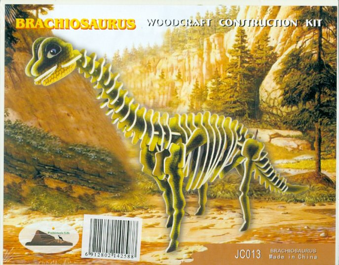 Иллюстрация 1 из 2 для Брахиозавр (JC013) | Лабиринт - игрушки. Источник: Лабиринт