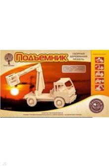 """Сборная деревянная модель """"Подъемник"""" (P025)"""