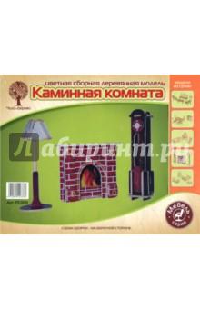 Часы, лампа и камин (PC009)