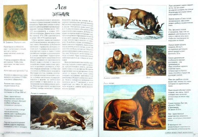 Иллюстрация 1 из 26 для Самые известные животные | Лабиринт - книги. Источник: Лабиринт