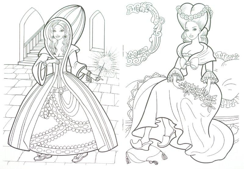 Иллюстрация 1 из 7 для Раскраска: Феи из сказок | Лабиринт - книги. Источник: Лабиринт
