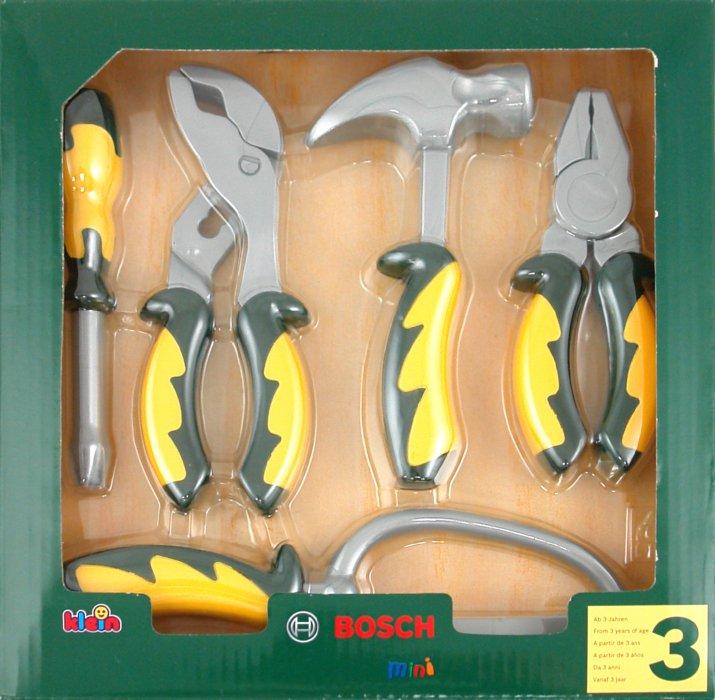 Иллюстрация 1 из 9 для Набор инструментов BOSCH, 5 предметов (8098) | Лабиринт - игрушки. Источник: Лабиринт