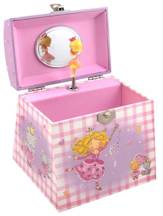 """Иллюстрация 1 из 3 для Шкатулка музыкальная """"Принцесса"""" (625000)   Лабиринт - игрушки. Источник: Лабиринт"""
