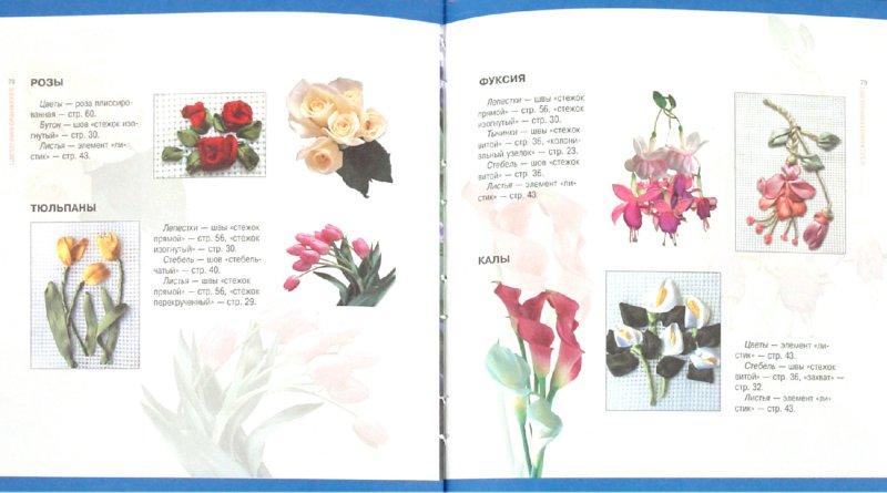 Иллюстрация 1 из 16 для Вышивка лентами | Лабиринт - книги. Источник: Лабиринт