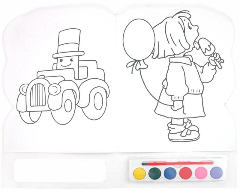 Иллюстрация 1 из 3 для Краски и раскраски. Зайчик | Лабиринт - книги. Источник: Лабиринт