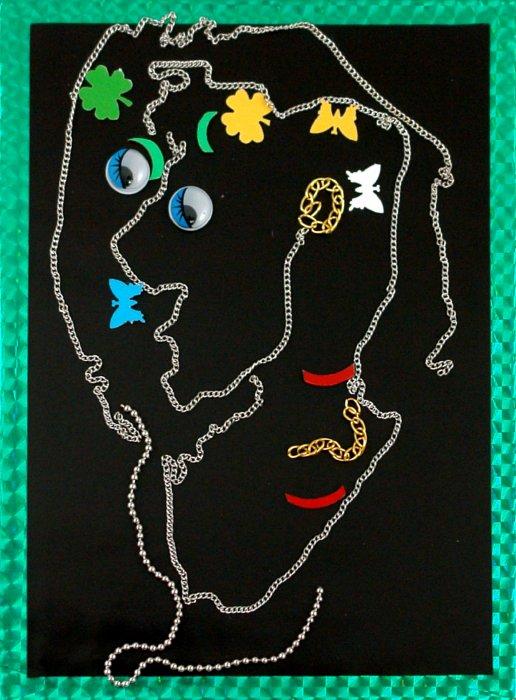 Иллюстрация 1 из 16 для Открытка-антистресс. Нарисуй веселый портрет   Лабиринт - игрушки. Источник: Лабиринт
