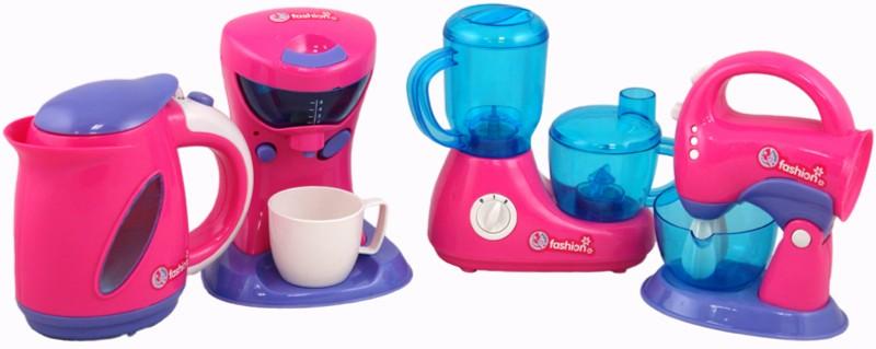 Иллюстрация 1 из 8 для Набор кухонной техники на батарейках (663490)   Лабиринт - игрушки. Источник: Лабиринт