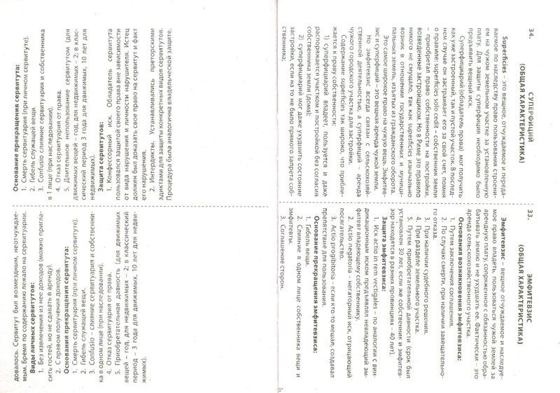 Иллюстрация 1 из 7 для Римское право. Шпаргалка. Учебное пособие - Анастасия Щепина | Лабиринт - книги. Источник: Лабиринт