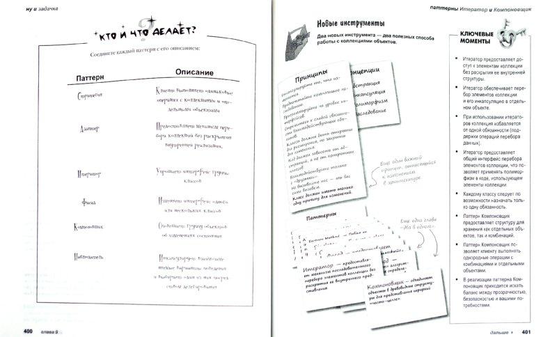Иллюстрация 1 из 11 для Паттерны проектирования - Фримен, Фримен, Сьерра, Бейтс | Лабиринт - книги. Источник: Лабиринт