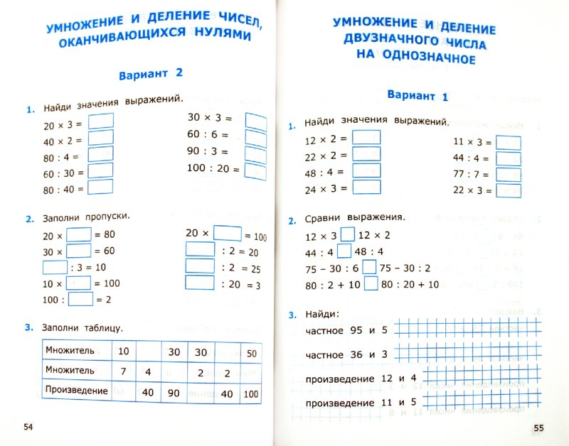 Итоговые контрольные работы по математике для 3 класса Контрольные работы с решениями по математике 3 класс...