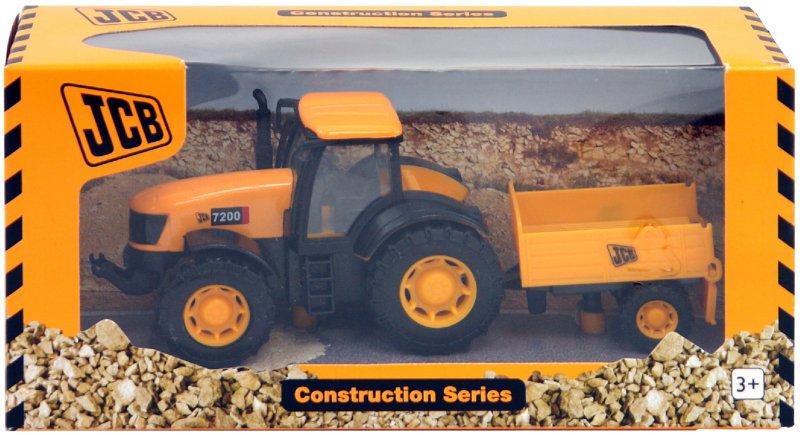 Иллюстрация 1 из 5 для Строительная машинка: Трактор с телегой (1415180)   Лабиринт - игрушки. Источник: Лабиринт