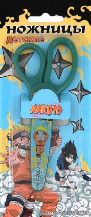 Иллюстрация 1 из 3 для Ножницы Naruto 130 мм с пластиковым чехлом (SA06850/N) | Лабиринт - канцтовы. Источник: Лабиринт