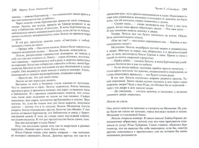 Иллюстрация 1 из 14 для Книжный вор - Маркус Зусак   Лабиринт - книги. Источник: Лабиринт