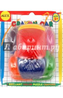 Автомобиль из мелков, цветной от 2 лет (214)