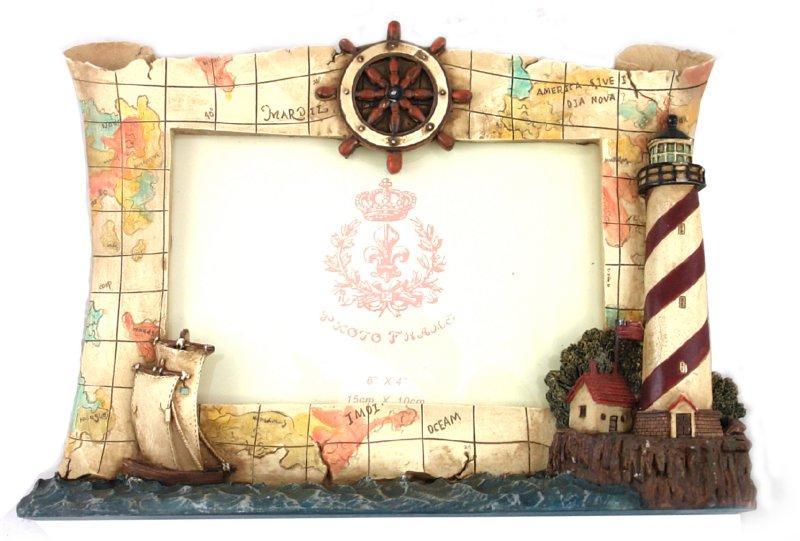 Иллюстрация 1 из 3 для Фоторамка полирезиновая 10х15 см (LF0504)   Лабиринт - сувениры. Источник: Лабиринт