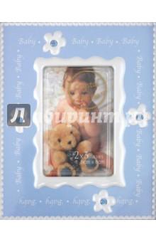 "Фоторамка 6х8 см ""Baby crystal blue"" (7730)"