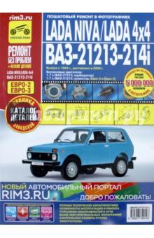 Lada Niva / Lada 4x4 ВАЗ 21213, -21214i. Руководство по эксплуатации, тех. обслуживанию и ремонтуРоссийские автомобили<br>Предлагаем вашему вниманию руководство по эксплуатации и ремонту с каталогом деталей автомобилей Lada Niva/Lada 4x4 ВАЗ-21213, -21214i, оснащенных бензиновыми 4-цилиндровыми двигателями рабочим объемом 1,7 л. В издании подробно рассмотрено устройство автомобиля, даны рекомендации по эксплуатации и ремонту. Специальный раздел посвящен неисправностям в пути, способам их диагностики и устранения.<br>Все подразделы, в которых описаны обслуживание и ремонт агрегатов и систем, содержат перечни возможных неисправностей и рекомендации по их устранению, а также указания по разборке, сборке, регулировке и ремонту узлов и систем автомобиля с использованием стандартного набора инструментов в условиях гаража.<br>Операции по регулировке, разборке, сборке и ремонту автомобиля снабжены пиктограммами, характеризующими сложность работы, число исполнителей, место проведения работы и время, необходимое для ее выполнения.<br>Указания по разборке, сборке, регулировке и ремонту узлов и систем автомобиля с использованием готовых запасных частей и агрегатов приведены пооперационно и подробно иллюстрированы цветными фотографиями<br>и рисунками, благодаря которым даже начинающий автолюбитель легко разберется в ремонтных операциях.<br>Структурно все ремонтные работы разделены по системам и агрегатам, на которых они проводятся (начиная с двигателя и заканчивая кузовом). По мере необходимости операции снабжены предупреждениями и полезными советами на основе практики опытных автомобилистов.<br>Структура книги составлена так, что фотографии или рисунки без порядкового номера являются графическим дополнением к последующим пунктам. При описании работ, которые включают в себя промежуточные операции, последние указаны в виде ссылок на подраздел и страницу, где они подробно описаны.<br>В приложениях содержатся необходимые для эксплуатации, обслуживания и ремонта сведения о моментах 