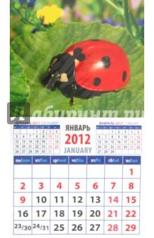 "Календарь на 2012 год. ""Божья коровка"" (20217)"