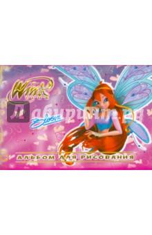 """Альбом для рисования 8 листов """"Winx"""" (55160)"""