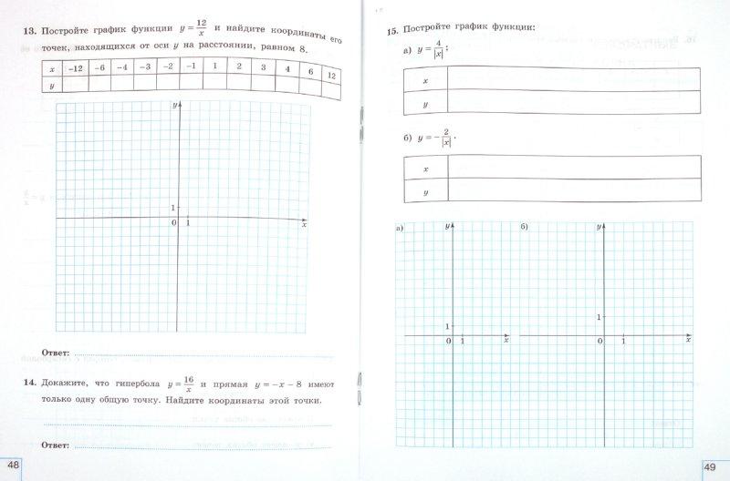Иллюстрация 1 из 7 для Алгебра. 8 класс. Рабочая тетрадь. В 2-х частях (комплект) - Миндюк, Шлыкова | Лабиринт - книги. Источник: Лабиринт