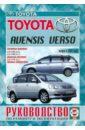 TOYOTA AVENSIS 1998-2003 бензин Пособие по ремонту и эксплуатации.