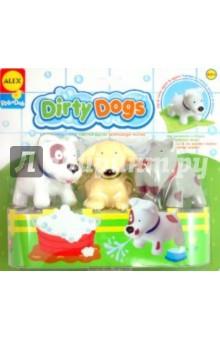 Вымой щенка, меняющего цвет (825DN)Игрушки для ванной<br>Игрушка для ванны Вымой щенка.<br>Если игрушку опустить в теплую воду и слегка потереть, щенок становится чистым - пятнышки исчезают! Когда щенок высохнет - пятнышки появятся снова. Игрушка так же может брызгать водой из ротика. <br>В наборе: 3 чумазых щенка и мини полотенце.<br>Материал: пластмасса.<br>Упаковка: блистер.<br>Для детей от 6 мес. <br>Страна изготовитель: Китай.<br>